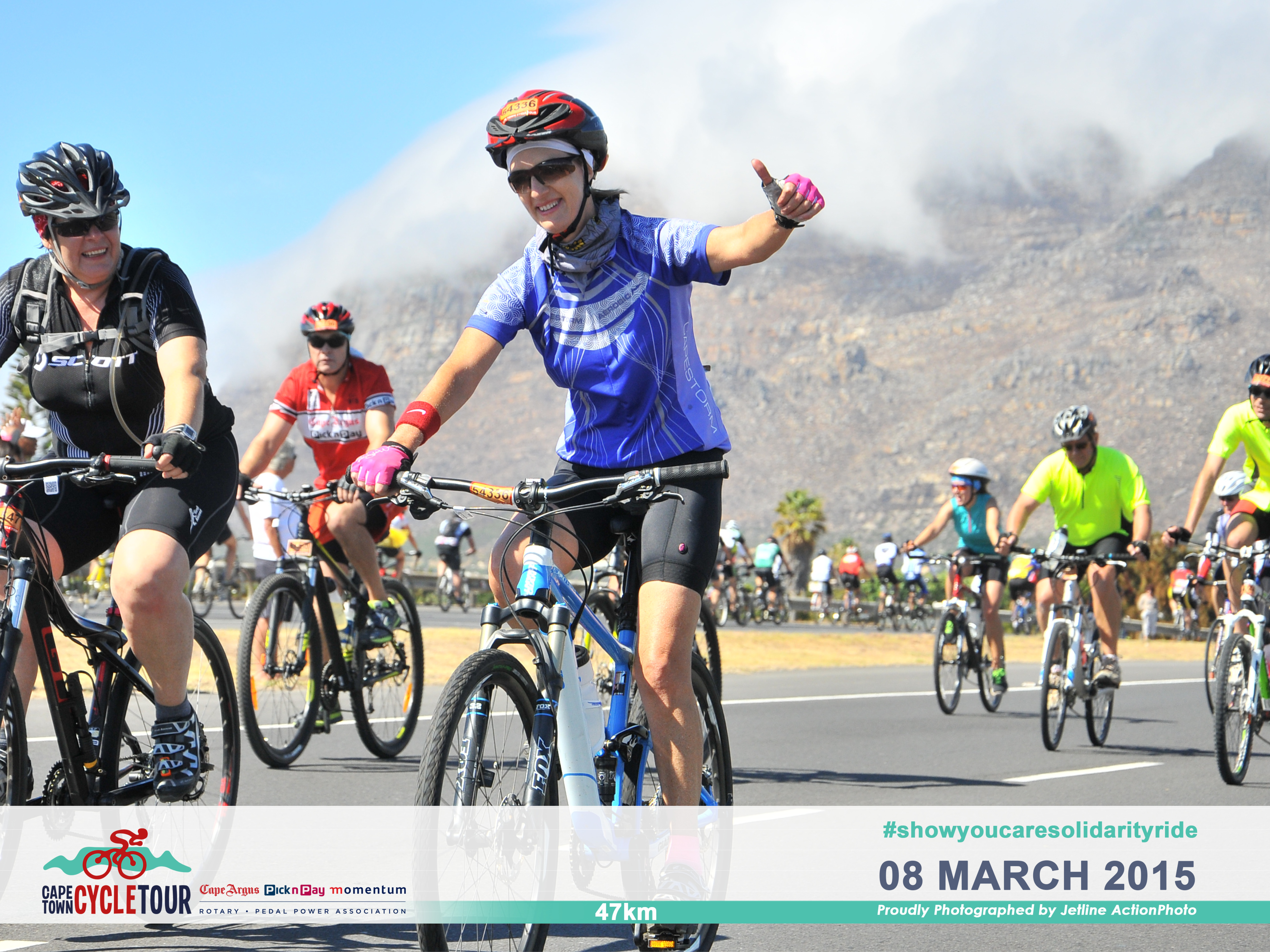 B Lubbe & Associates attorney at Cape Town Cycle Tour